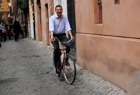 marino in bicicletta