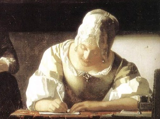 vermeer_johannes-lady_writing_a_letter_with_her_maid_detail-c-_1670-ii